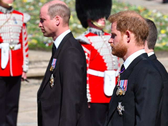 How Princes Harry and William Showed Subtle Support for Each Other at Philip's Funeral