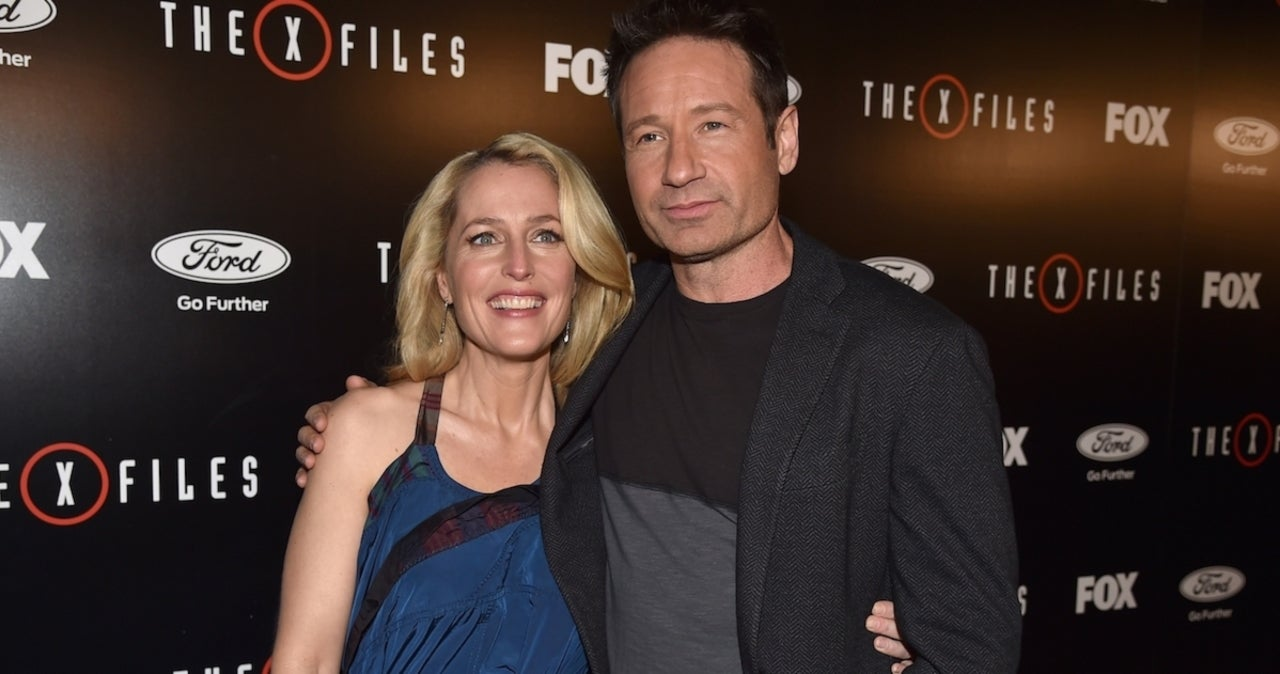 David Duchovny and Gillian Anderson Reunite for 'X-Files' Reunion.jpg