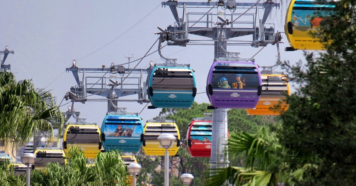 disney world skyliners getty images