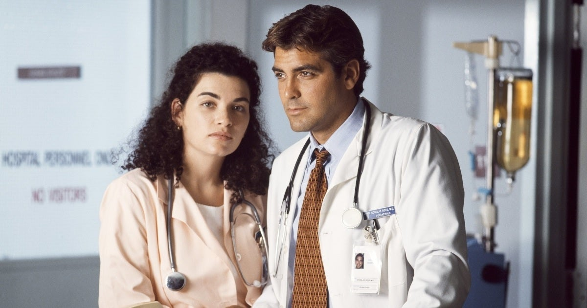 er julianna margulies george clooney getty images nbc