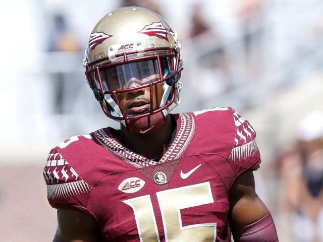 Former Florida State, NFL Receiver Charged With First-Degree Murder