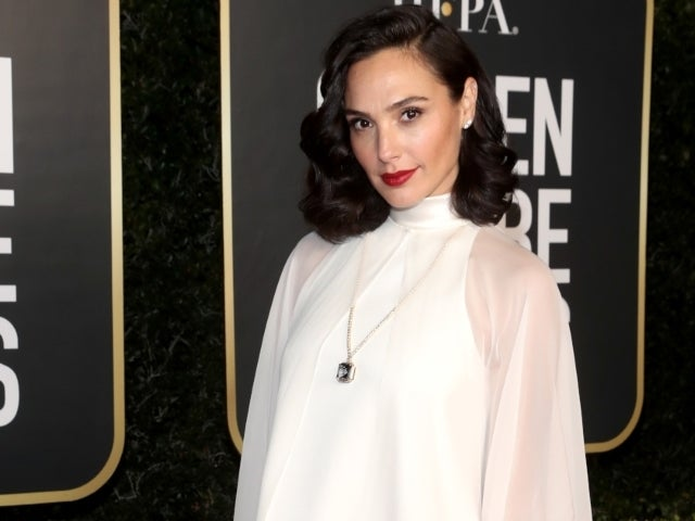 Gal Gadot Showcases Baby Bump While Working on 'Major' Project
