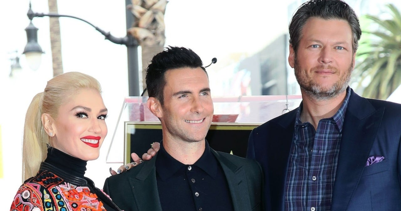 Adam Levine Jokingly Tells Ellen DeGeneres He Doesn't 'Support' Blake Shelton and Gwen Stefani's Marriage.jpg