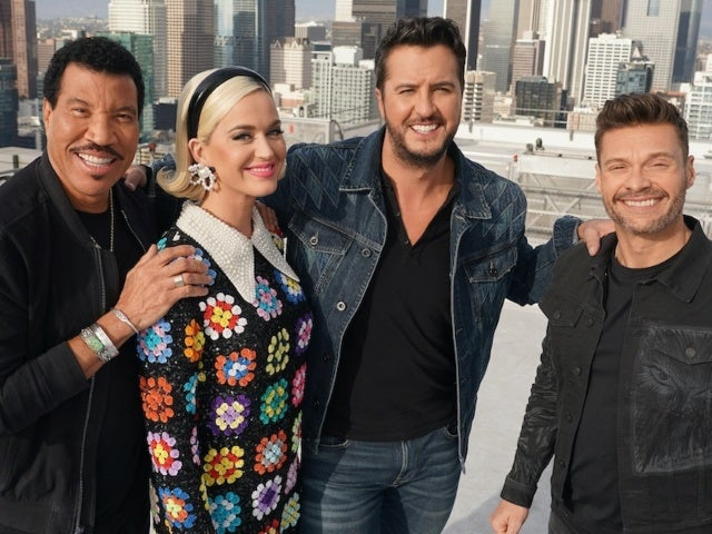 Ryan Seacrest Surprises 'American Idol' Judges Luke Bryan and Lionel Richie in Easter Bunny Costume