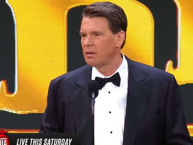 JBL Makes Light of Bully Accusations in WWE Hall of Fame Speech
