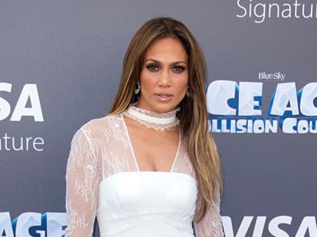 Jennifer Lopez Chills Poolside in New Photos While on Break From Filming 'Shotgun Wedding'