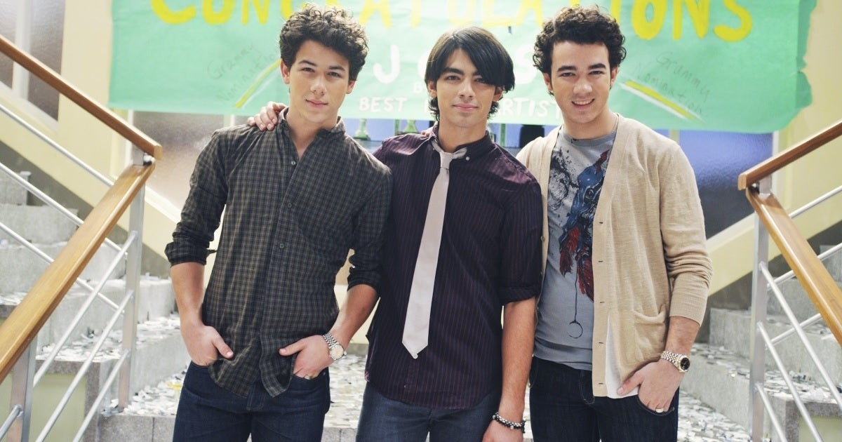 jonas brothers disney channel series getty images