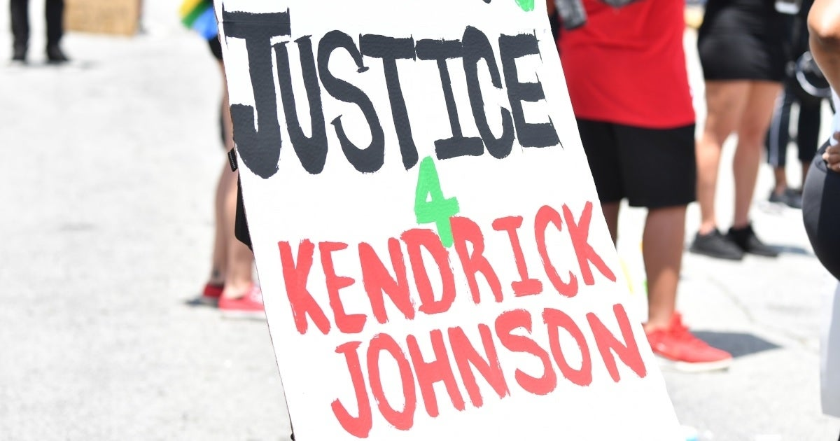 kendrick johnson rally getty images