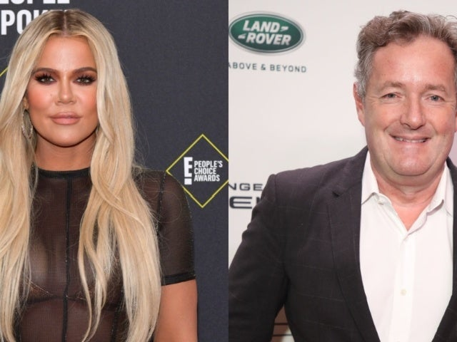 Piers Morgan Inserts Himself in Khloe Kardashian Unedited Photo Controversy