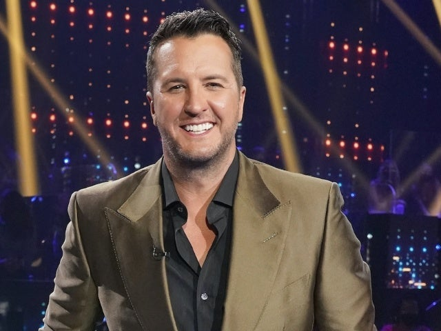 Luke Bryan Accepts ACM Entertainer of the Year Award Live From 'American Idol' Set