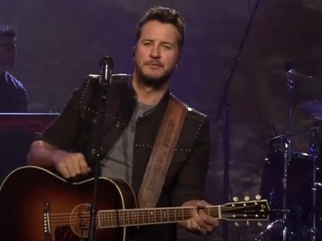 Luke Bryan Performs 'Drink a Little Whiskey Down' on 'Jimmy Kimmel Live'
