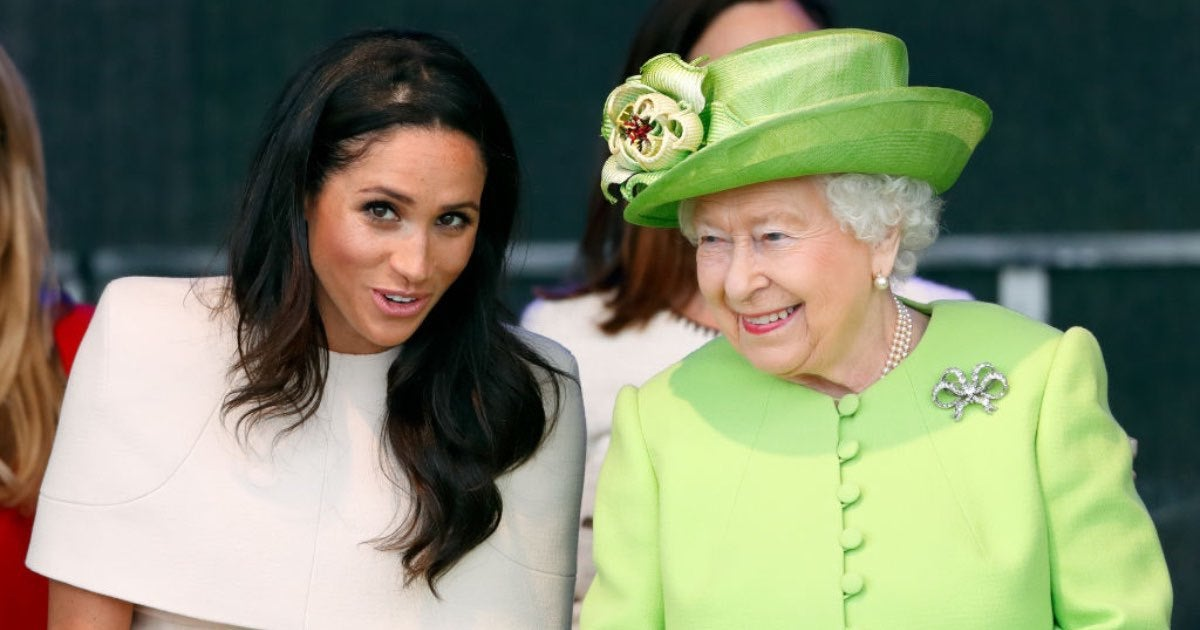 Markle and queen-2