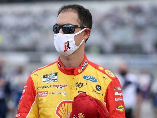 NASCAR: Joey Logano Goes Airborne During Wild Wreck at Talladega
