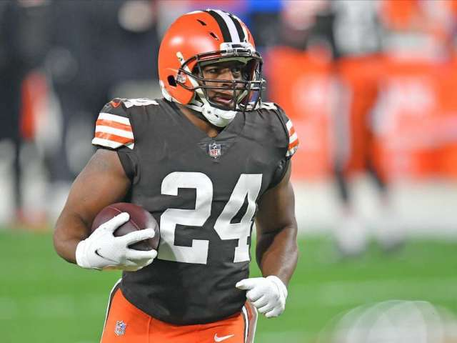 Browns Star Nick Chubb Launching Cereal Line to Benefit Charity