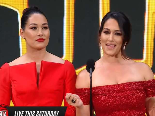 Nikki Bella Gives Shout out to Ex-Fiance John Cena During Her WWE Hall of Fame Speech