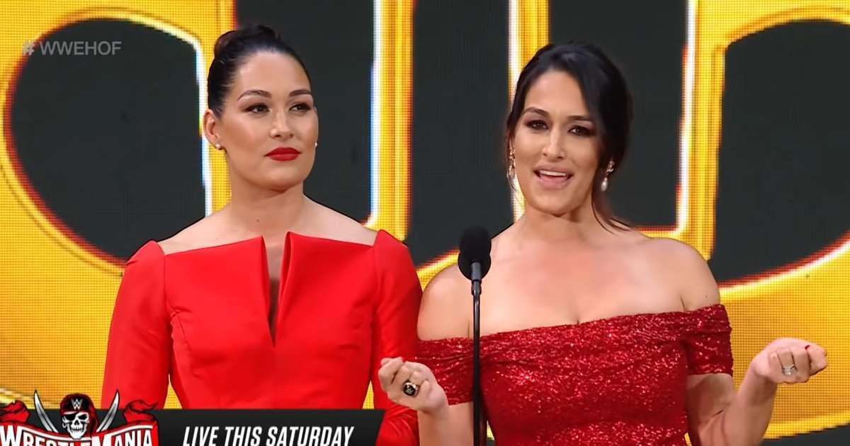 Nikki Bella shoutout ex-fiance John Cena WWE Hall of Fame speech