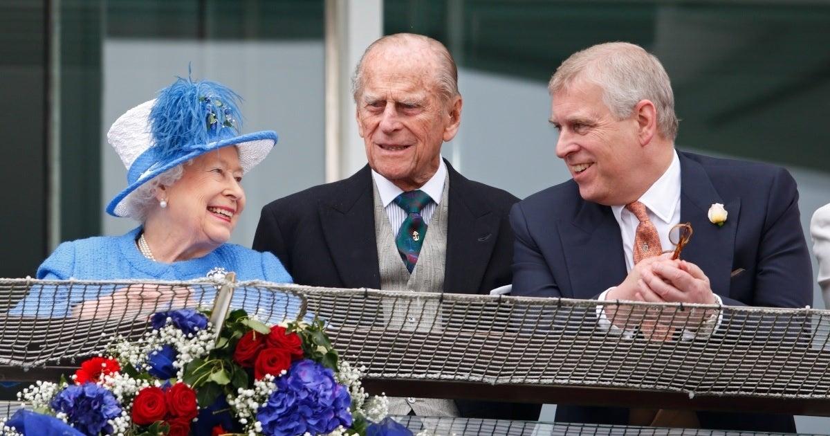 prince andrew philip queen elizabeth getty images