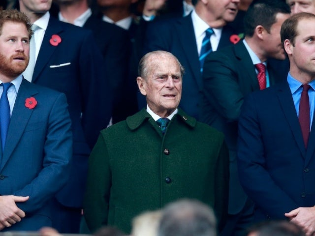Princes Harry and William Reunite at Prince Philip's Funeral Amid Family Feud