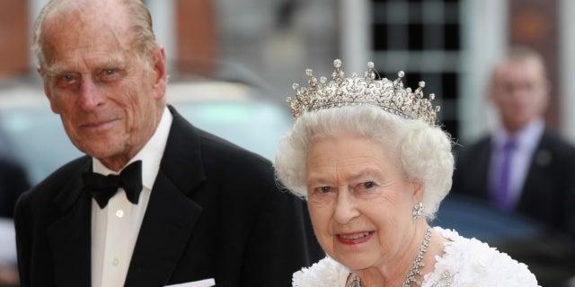 prince philip queen elizabeth getty images 2011