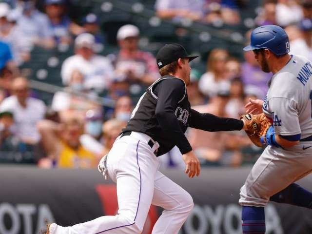 Watch: Cat Rushes Coors Field During Rockies vs. Dodgers