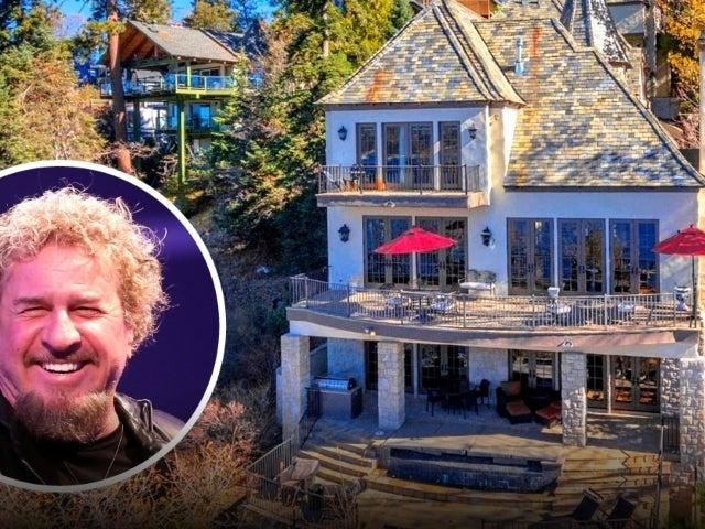 Peek Inside Sammy Hagar's $3.9M French Chateau-Style Lake Arrowhead Home
