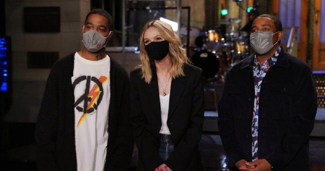 'SNL': Carey Mulligan Gets Dramatic With Kid Cudi in New Promo.jpg