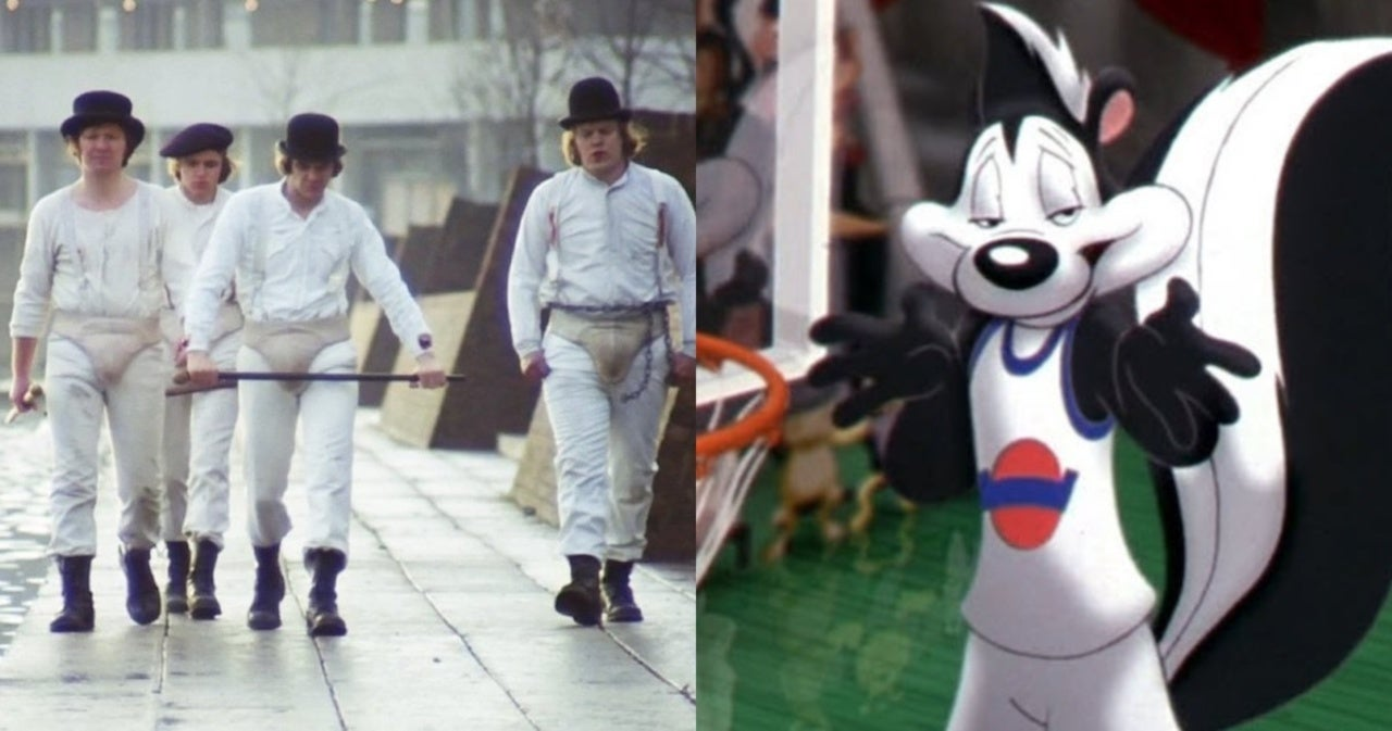 'Space Jam 2' Called out for Using 'A Clockwork Orange' Droogs Amid Pepe Le Pew Removal