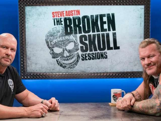 How Steve Austin Got Vince McMahon to Approve 'Broken Skull Sessions' Interview With AEW's Chris Jericho