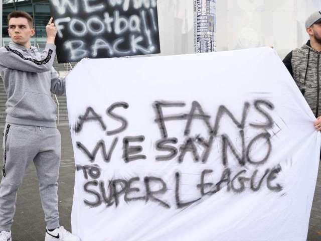 Super League Plan Has Soccer Fans Revolting