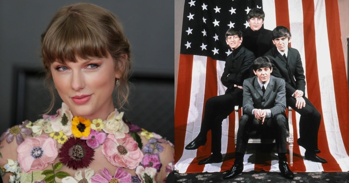 taylor swift the beatles getty images