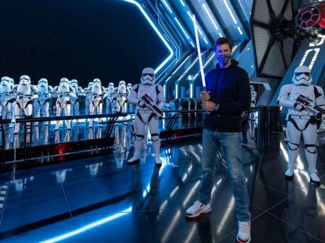 Tom Brady Goes All out With 'Star Wars' Experience at Disney World