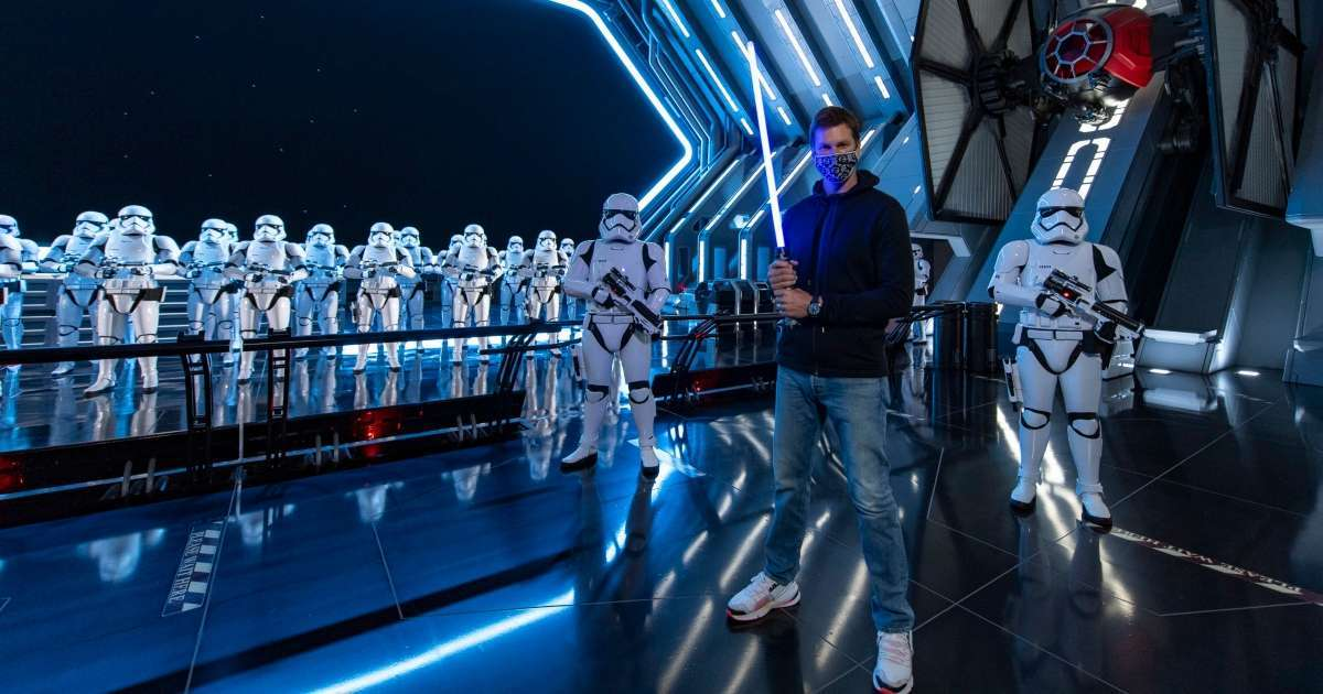 Tom Brady goes all-out Star Wars experience Disney World