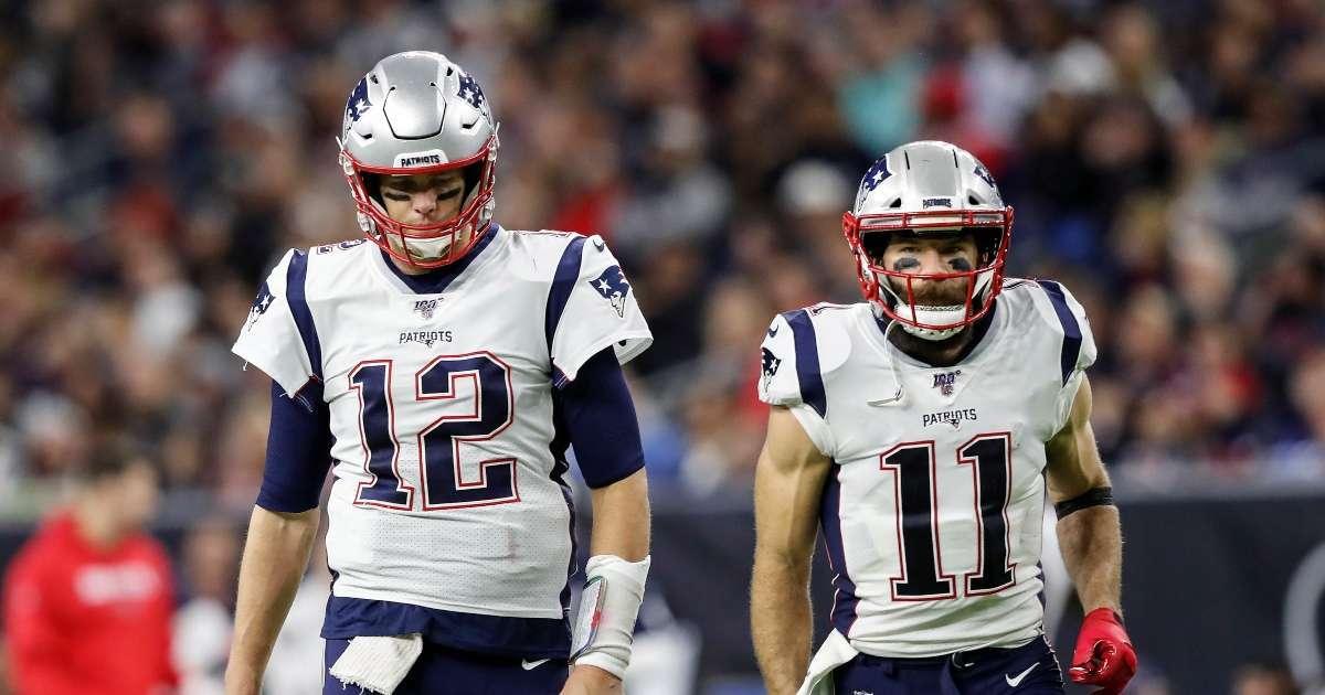 Tom Brady sends emotional message Julian Edelman after retirement announcement