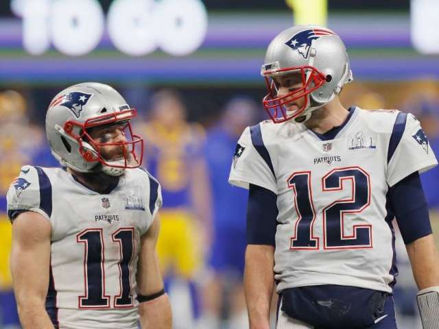Tom Brady Takes Shot at Julian Edelman After Announcing Retirement, Teases Comeback