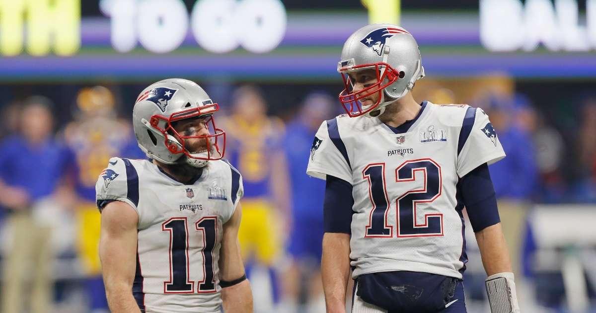 Tom Brady takes shot at Julian Edelman after retirement announcement