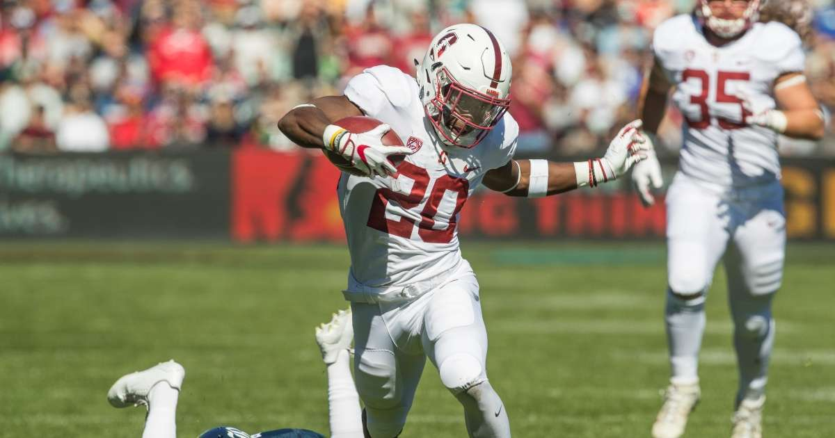 Washington Football team cuts Heisman running up Bryce Love