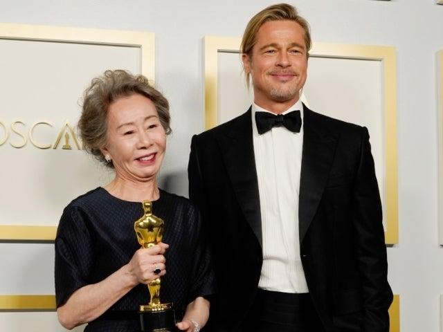 'Minari' Star Youn Yuh-Jung Hitting on Brad Pitt During Oscars Acceptance Speech Delights Fans