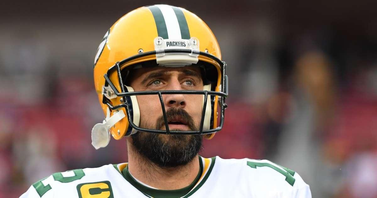 Aaron Rodgers Packers shocking finish 2021 season trading madden simulation