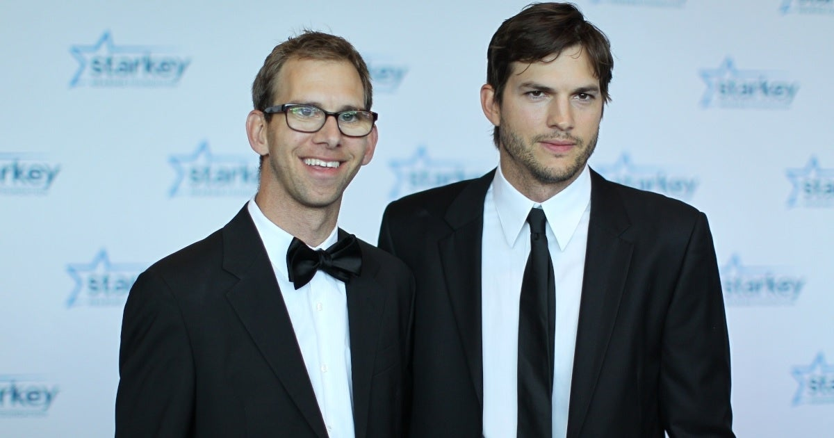 ashton kutcher brother michael getty images