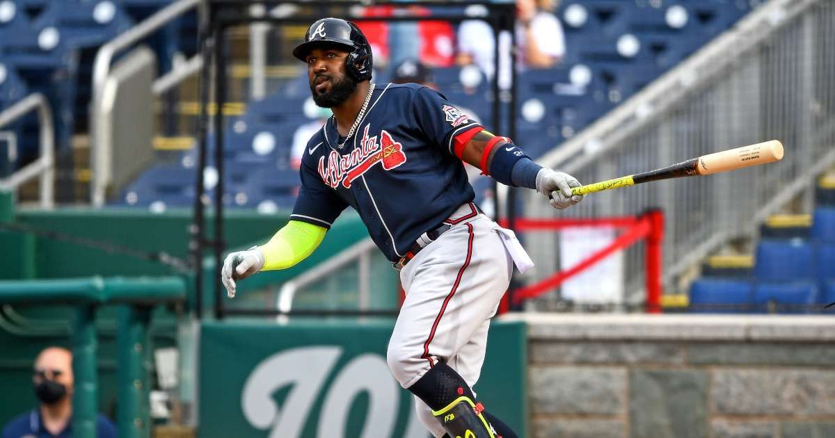 Atlanta Braves player Marcell Ozuna arrested charged assaulting wife