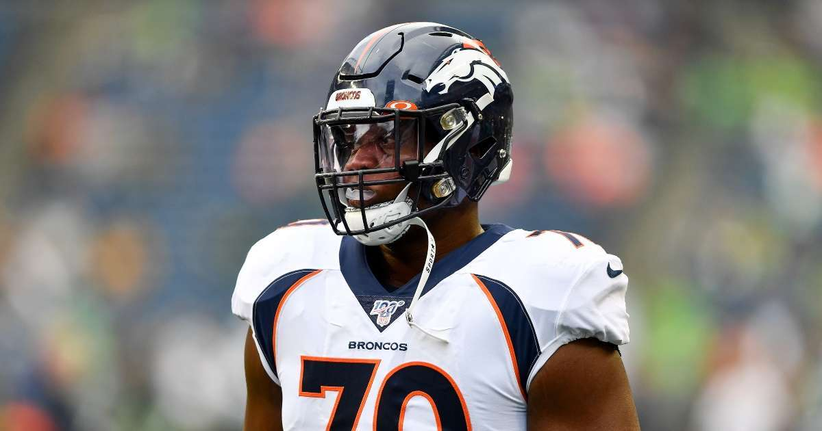 Broncos player Ja'Wuan James season ending injury away team facility