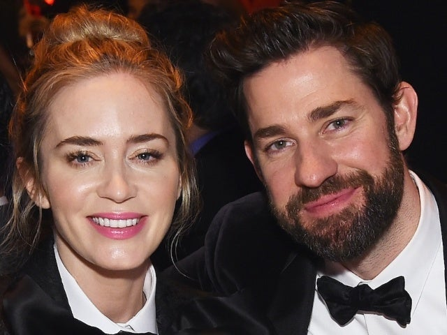 John Krasinski Responds to Amy Schumer's Joke About His and Emily Blunt's Marriage