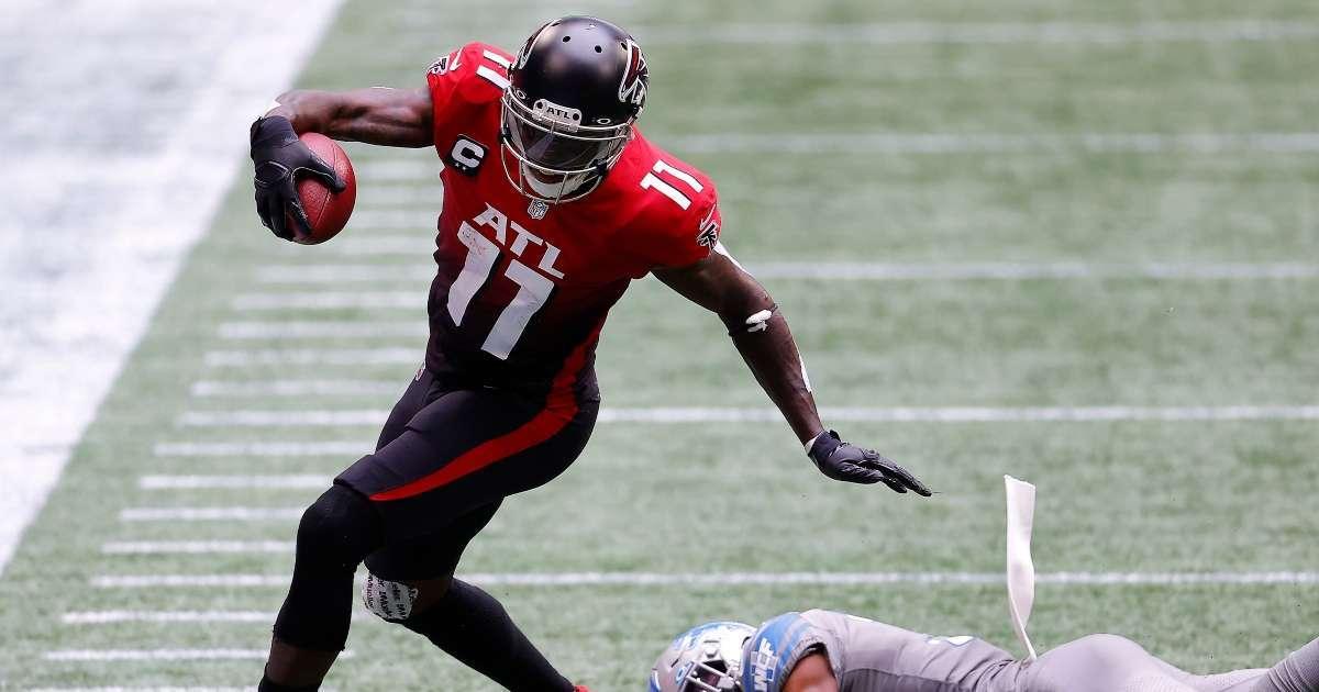Falcons make big offer trade Julio Jones
