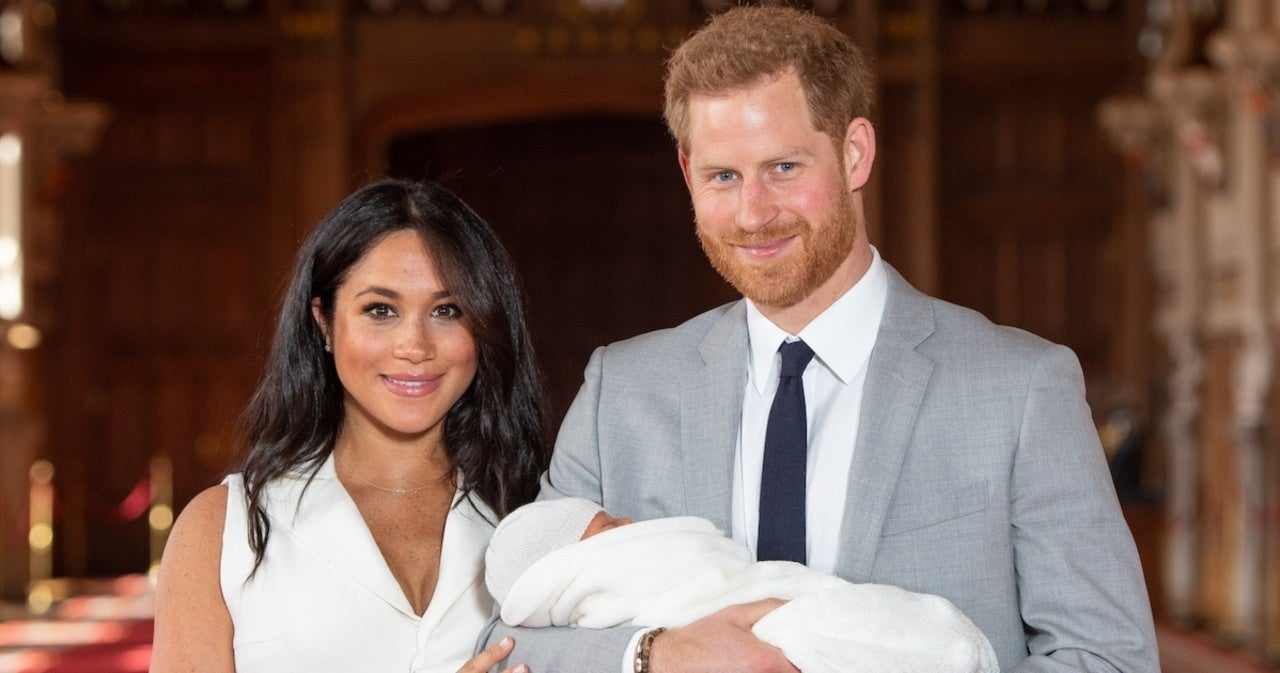 See the Royal Family's Birthday Message for Meghan Markle and Prince Harry's Son Archie.jpg
