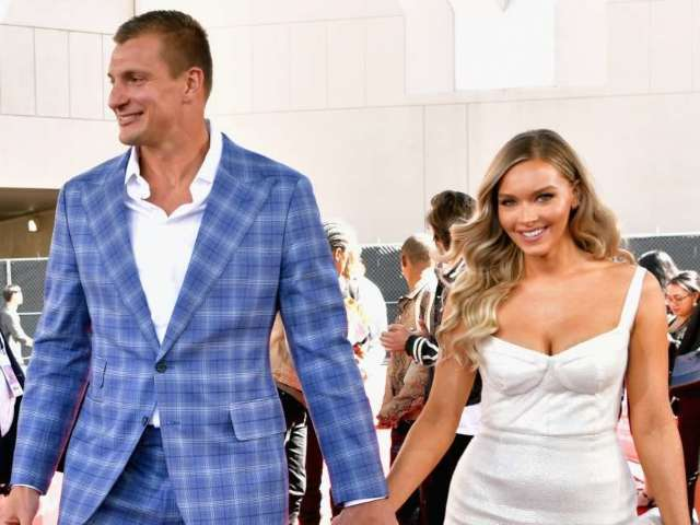 How Rob Gronkowski Broke the Rules to Get Camille Kostek's Number