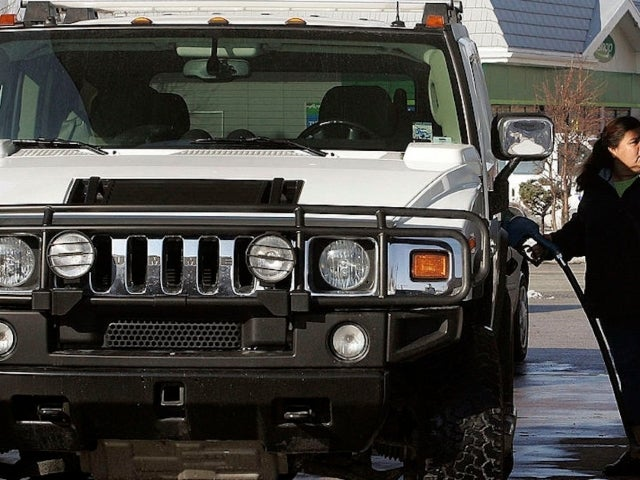 Hummer Burns to a Crisp After Driver Fills Several Gas Cans in Florida