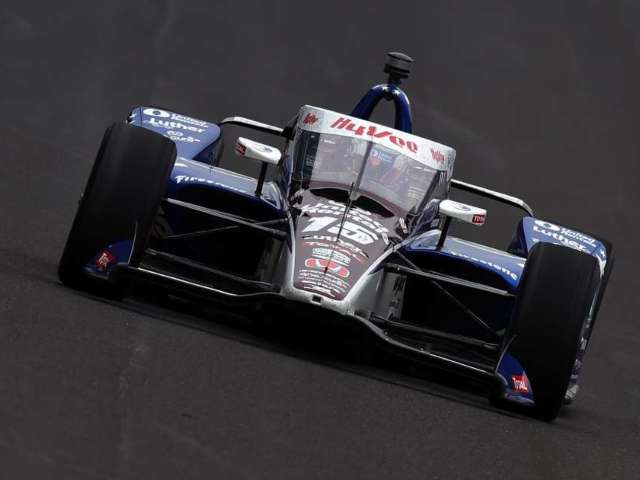 Indy 500: Graham Rahal Eliminated From Race After Wrecking Car