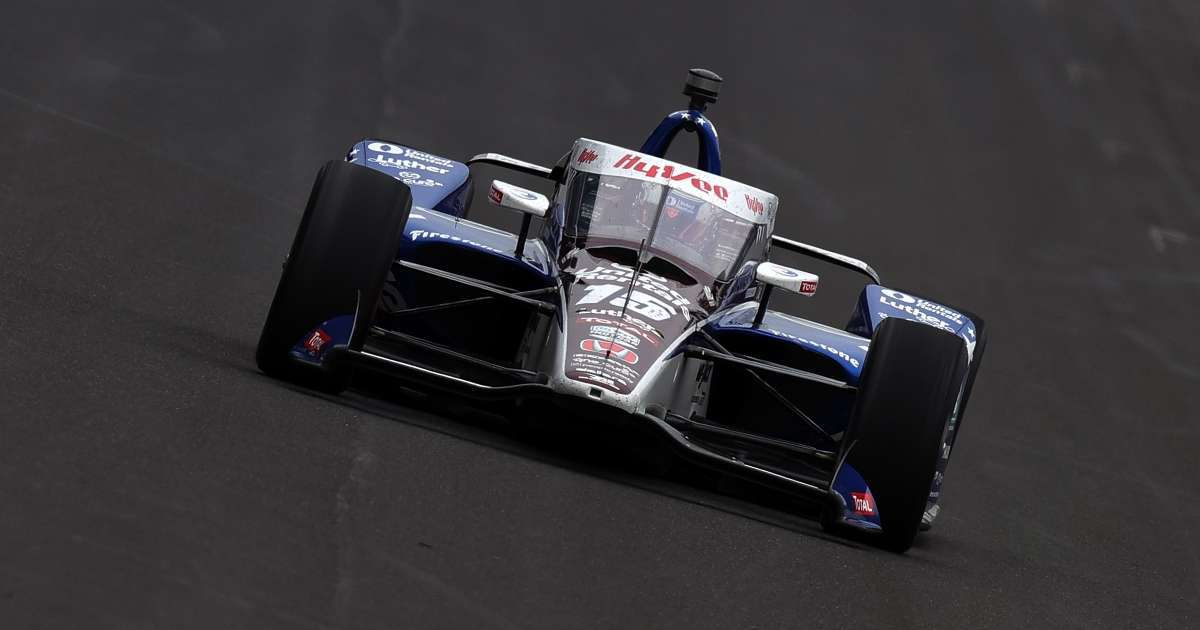 Indy 500 Graham Rahal eliminated from Indianapolis 500 after wrecking car
