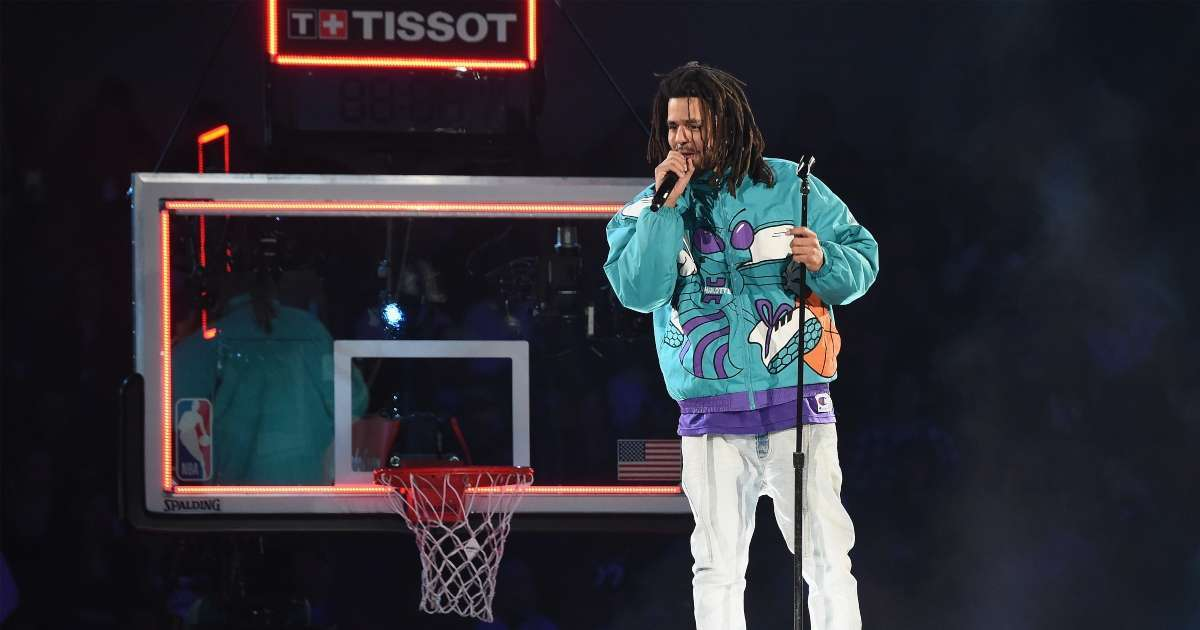 J Cole signs contract play professional bakstball