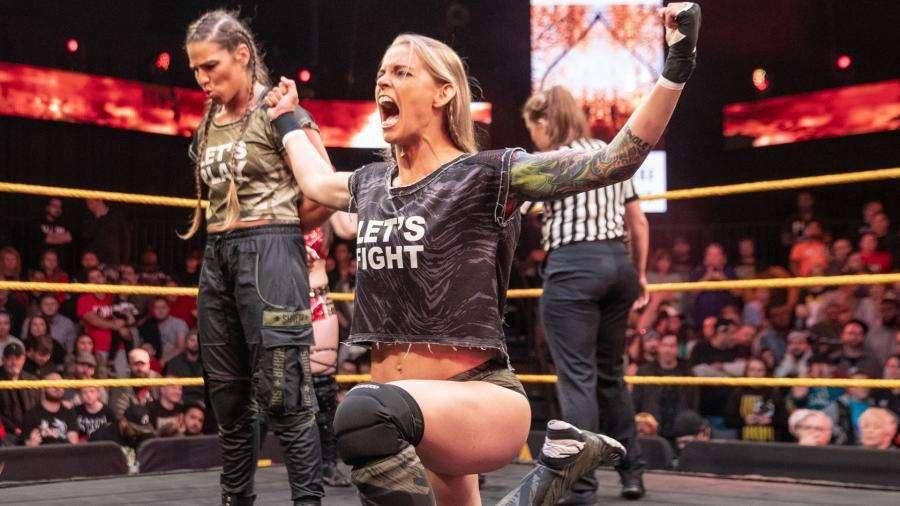 Jessamyn_Duke WWE released